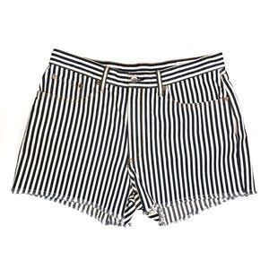 NWT Women's Rag & Bone Justine High Waist Shorts